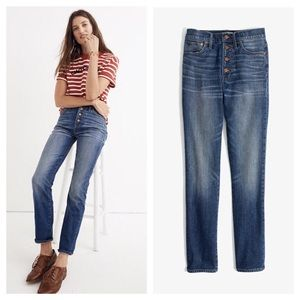 MADEWELL Perfect Vintage Jeans Comfort Stretch